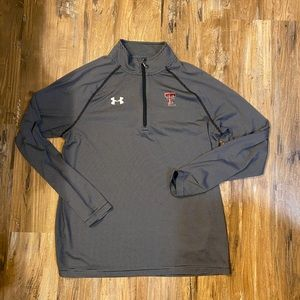 Texas Tech 1/4 zip (M)